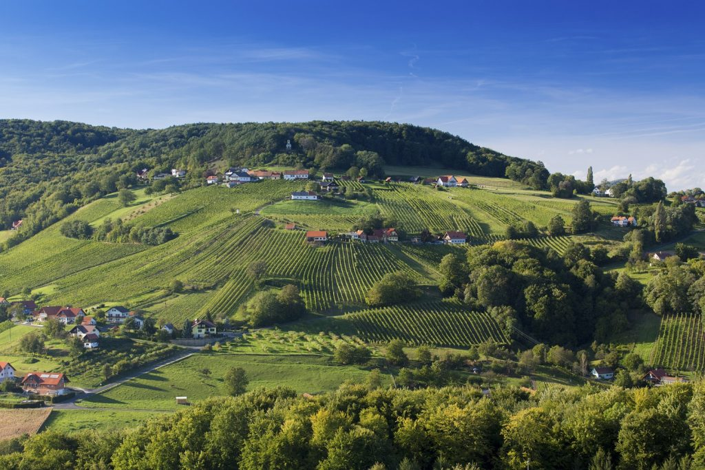 Styrian Wine Country Cycle Trail Cycle Trails In Austria