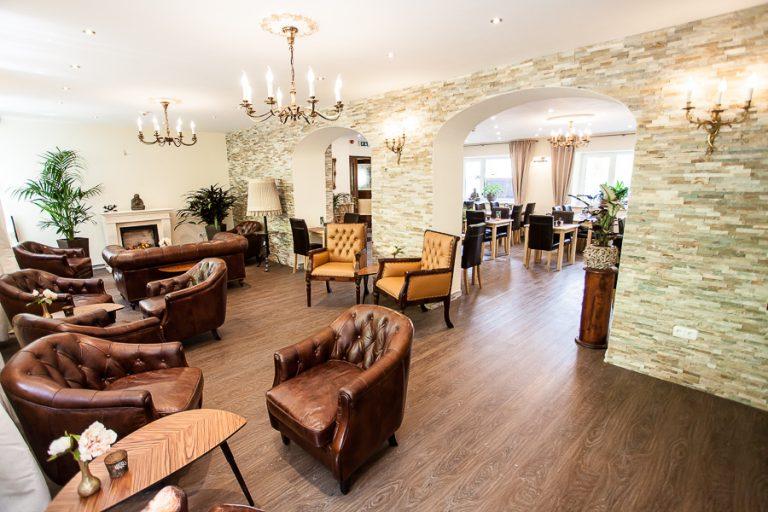 Lobby im Waldhotel Bad Jungbrunn
