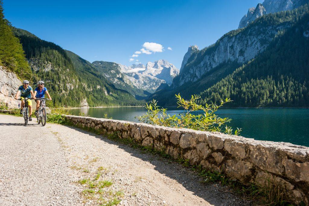 Salzkammergutradweg Radtouren in Österreich